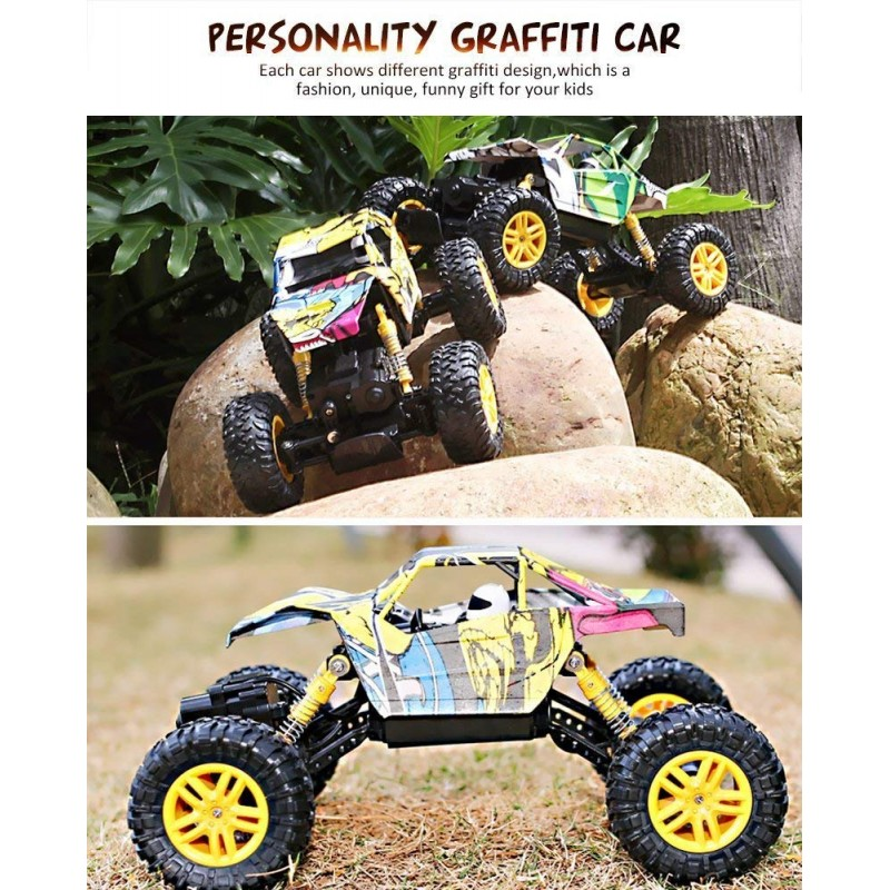 Bộ DOUBLE E RC Cars Dual Motors Rechargeable Remote Control Truck 4WD Off Road RC Truck Rock Crawler