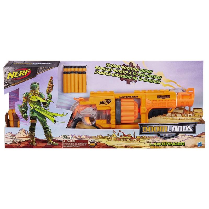 Súng Nerf Doomlands 2169 Lawbringer Blaster