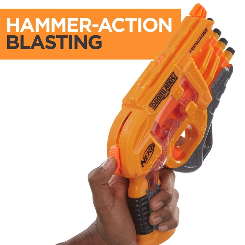 Súng Persuader Nerf Doomlands Toy Blaster with Hammer Action