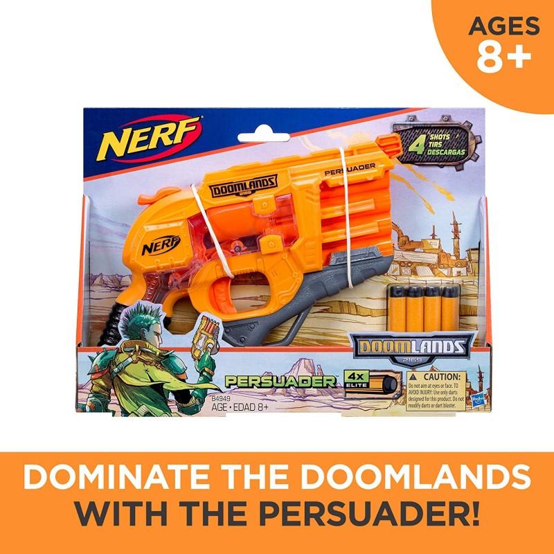 Súng Persuader Nerf Doomlands Toy Blaster with Hammer Action