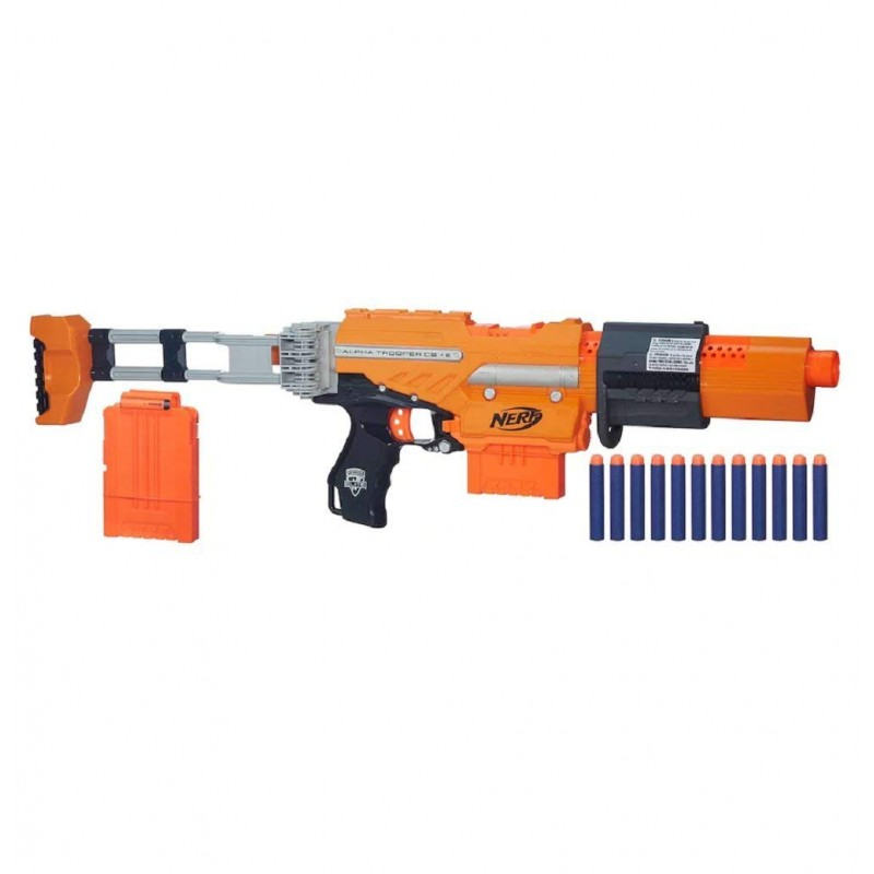 súng Nerf N-Strike Elite Alpha Trooper CS-6 Mission Kit