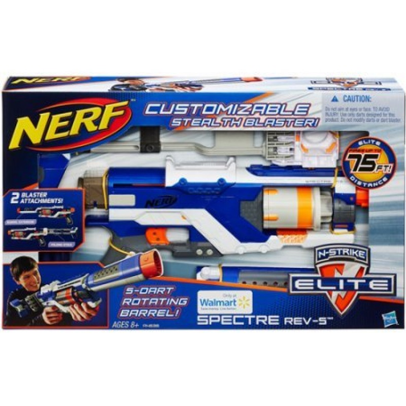 Súng Nerf N-Strike Elite Spectre Rev-5 Stealth Blaster