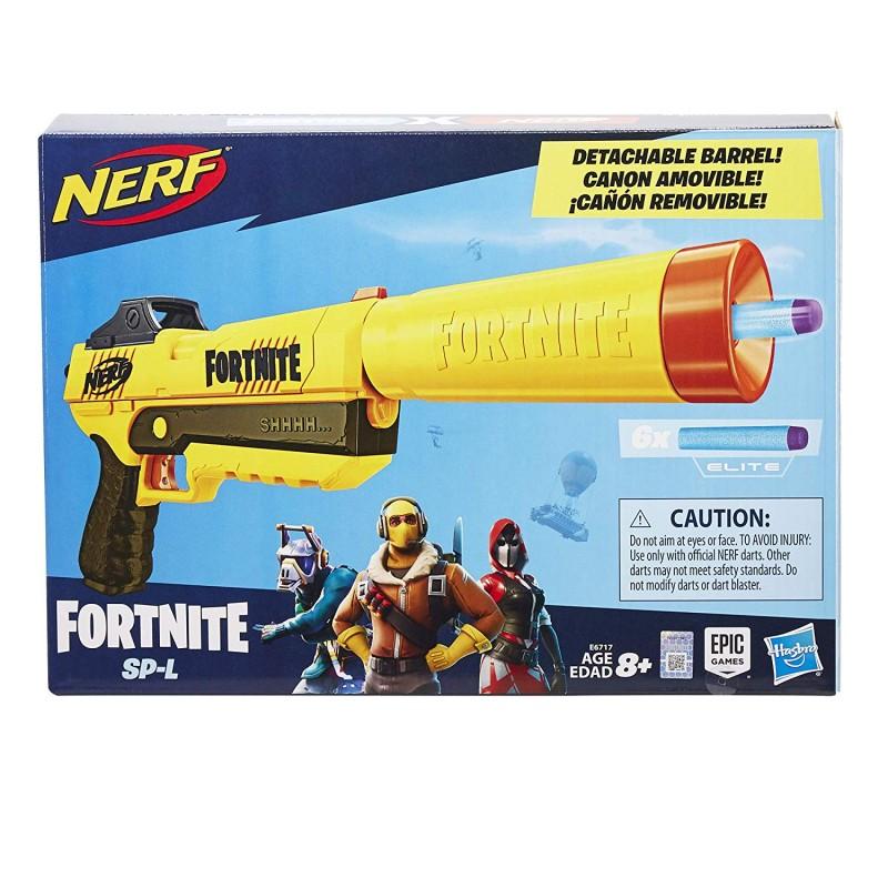 Súng  NERF Fortnite Sp-L Elite Dart Blaster