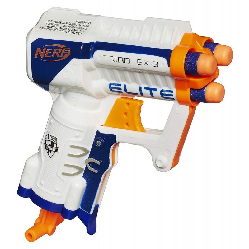 Súng NERF N-STRIKE ELITE TRIAD EX-3 BLASTER