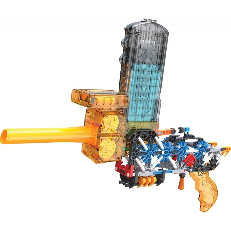 Súng K'NEX K-Force - Flash Fire Motorized Blaster Building Set - 288 Pieces - For Ages 8+ Engineering Education Toy