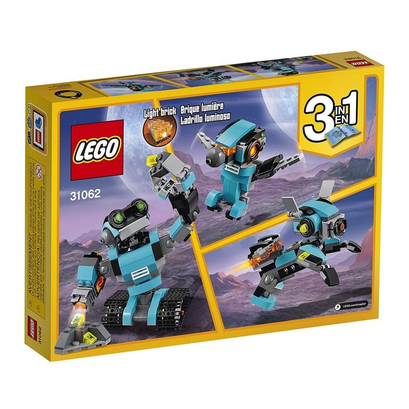 Bộ đồ chơi LEGO Creator Robo Explorer 31062 Robot Toy