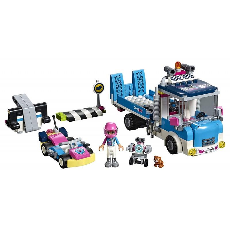 Bộ đồ chơi LEGO Friends 41348 - Đội Xe Đua Heartlake
