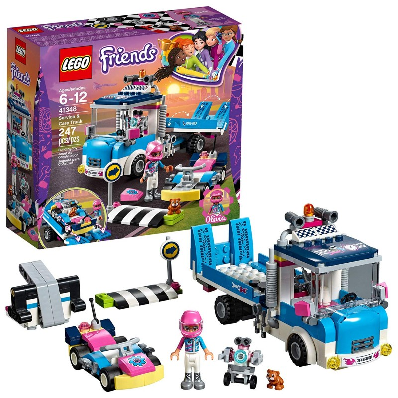Bộ LEGO Friends Service and Care Truck 41348 Building Kit