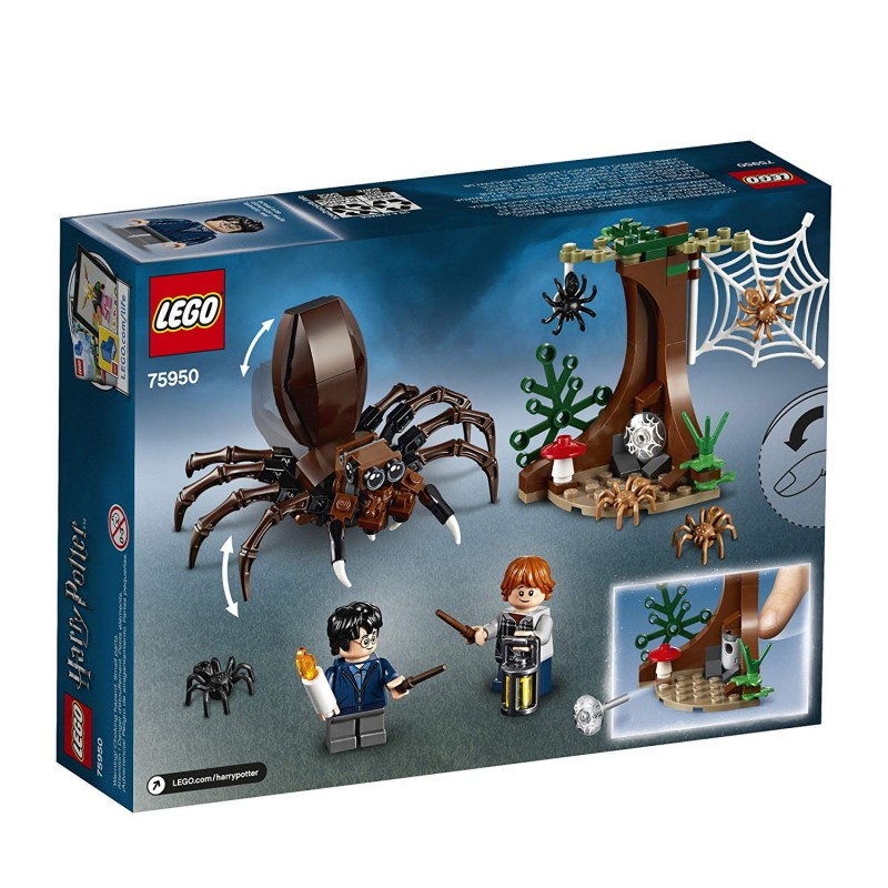 Bộ LEGO Harry Potter and The Chamber of Secrets Aragog's Lair 75950 Building Kit