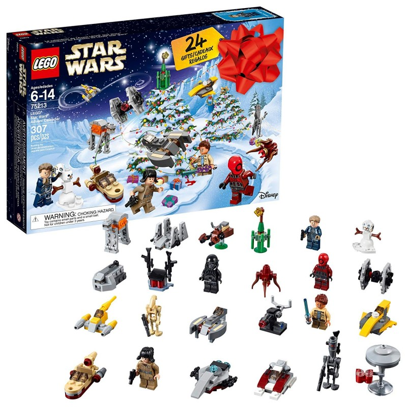 Bộ LEGO 6213564 Star Wars Advent Christmas Countdown Calendar 75213