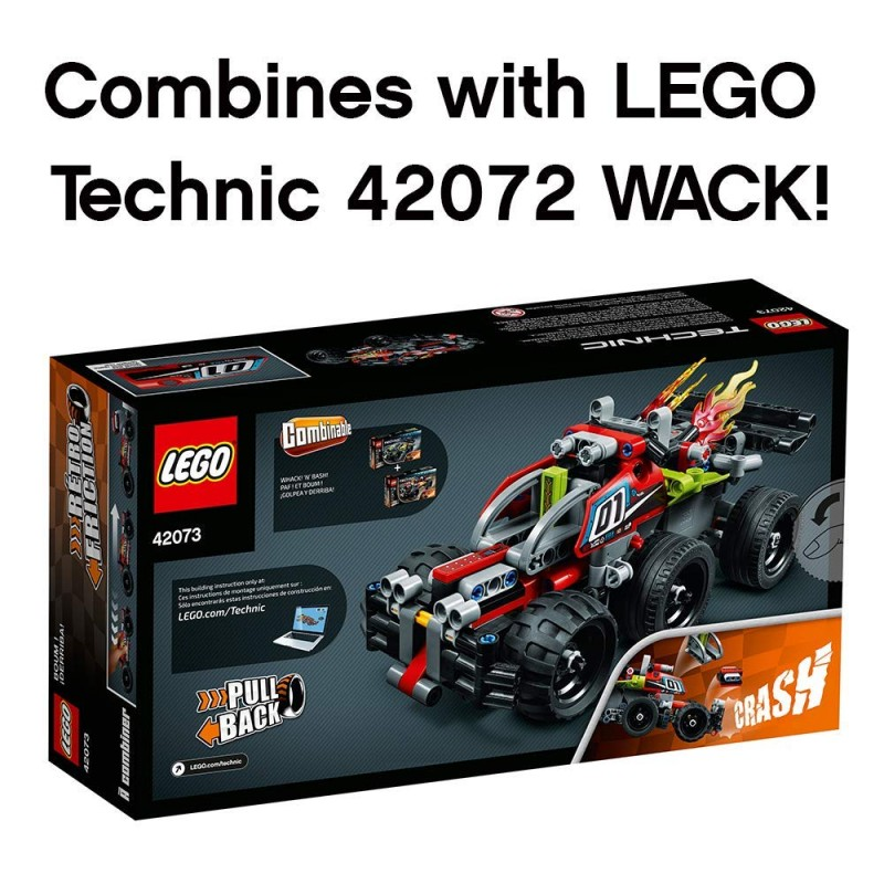 Bộ  LEGO Technic BASH! 42073 Building Kit