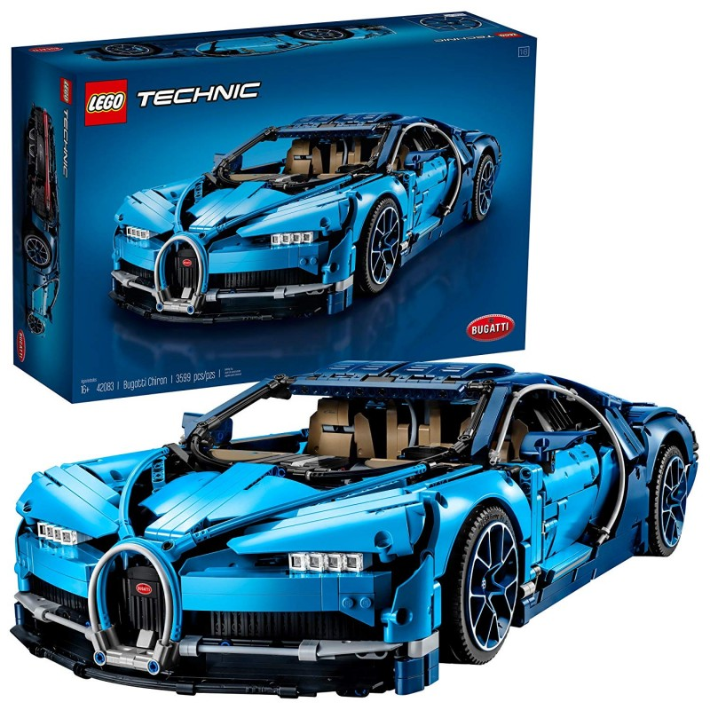 Siêu xe LEGO Technic Bugatti Chiron 42083 Race Car Building Kit