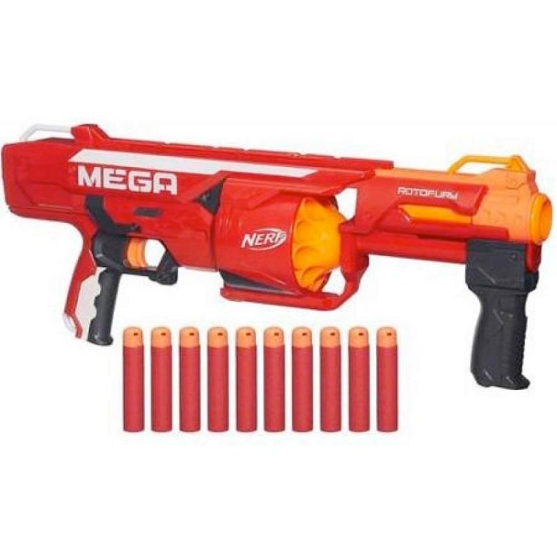 Súng Nerf N-Strike Mega Series RotoFury Blaster