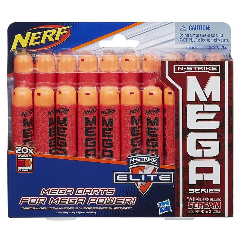 20 đạn  Nerf Official N-Strike Elite Mega Dart 20 Pack Refill