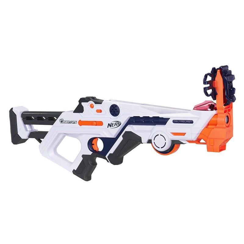Súng bắn laser Nerf Laser Ops Burst Fire Combat Blaster