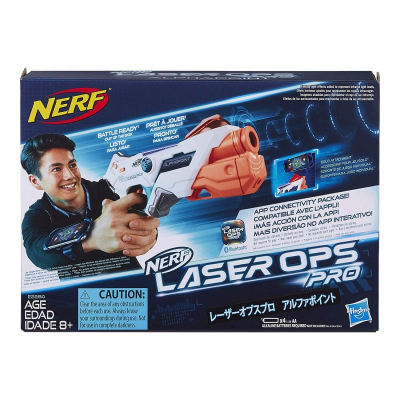 Súng bắn lazer và tạo tiếng động  Nerf Laser Ops Pro AlphaPoint