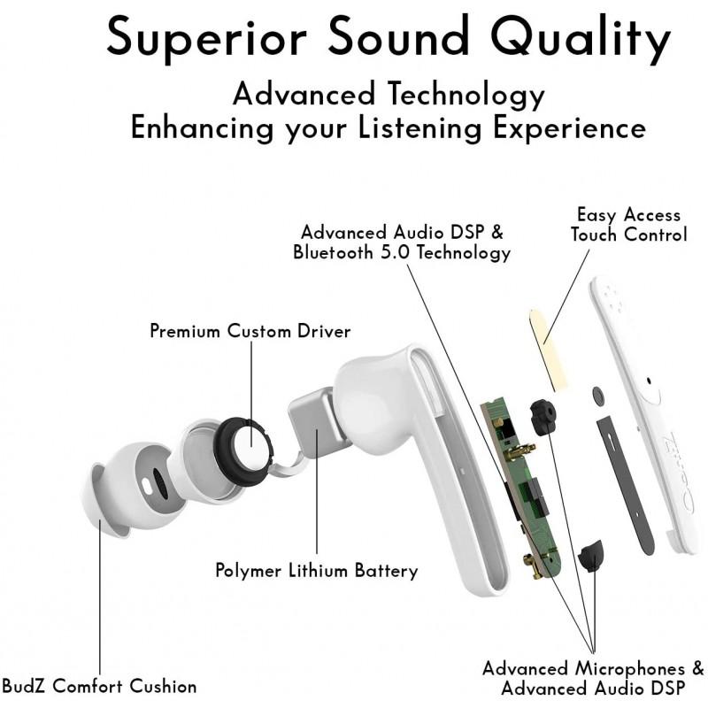 Tai nghe OontZ True Wireless BudZ Ultra