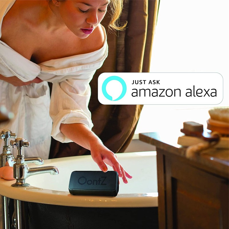 Loa bluetooth OontZ Angle 3 Shower – Plus Edition with Alexa