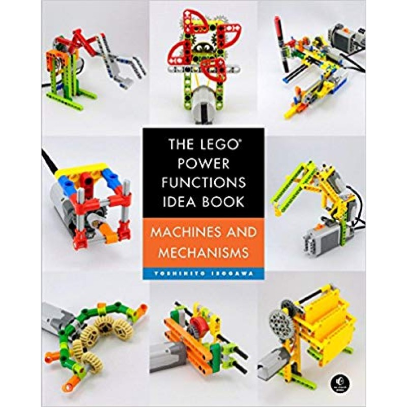 Bộ sách The LEGO Power Functions Idea Book, Volume 1: Machines and Mechanisms