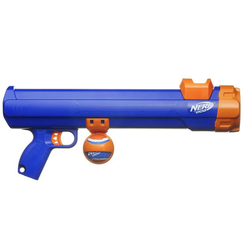Súng 16inch Medium Compact Tennis Ball Blaster, Dog Toy by Nerf Dog