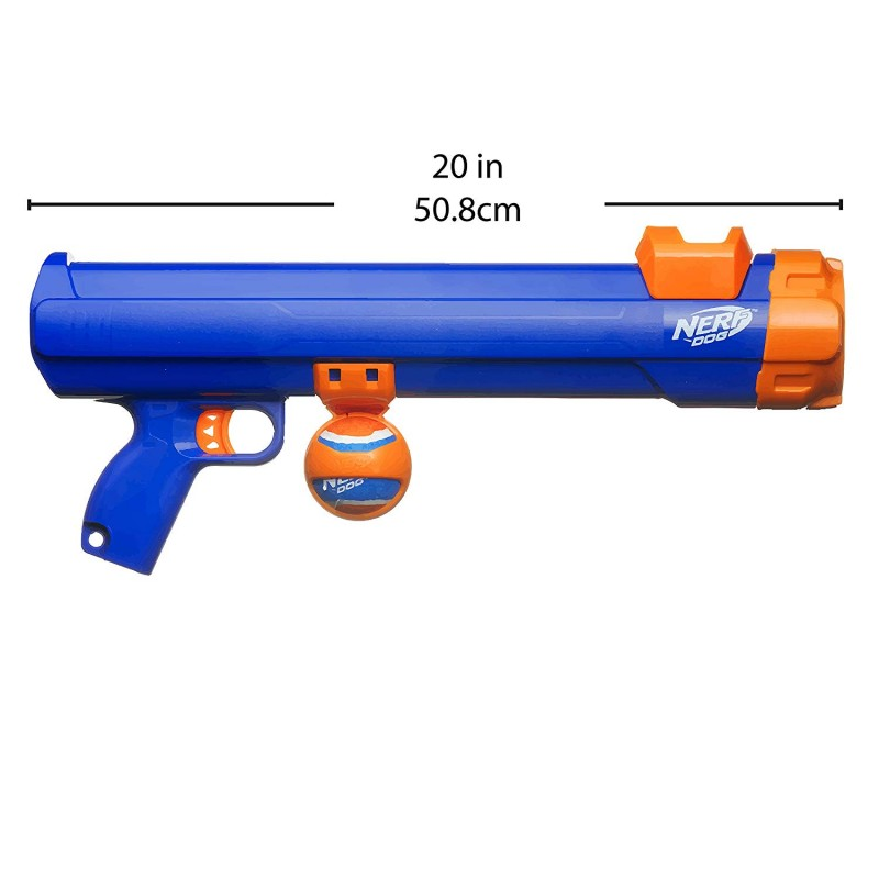 Súng 16inch Medium Compact Tennis Ball Blaster, Dog Toy by Nerf Dog