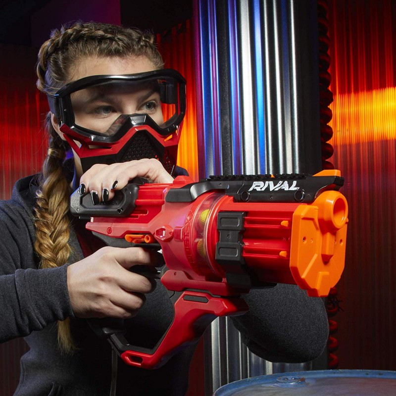 Súng nerf mới NERF Rival Roundhouse XX-1500 Red Blaster
