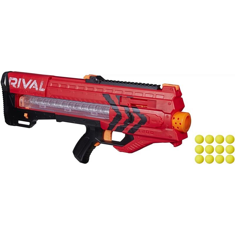 Súng Nerf Men's Rival Zeus Mxv 1200 Blaster Red