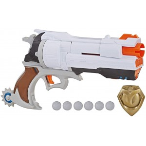 Súng NERF Overwatch McCree Rival Blaster with Die Cast Badge