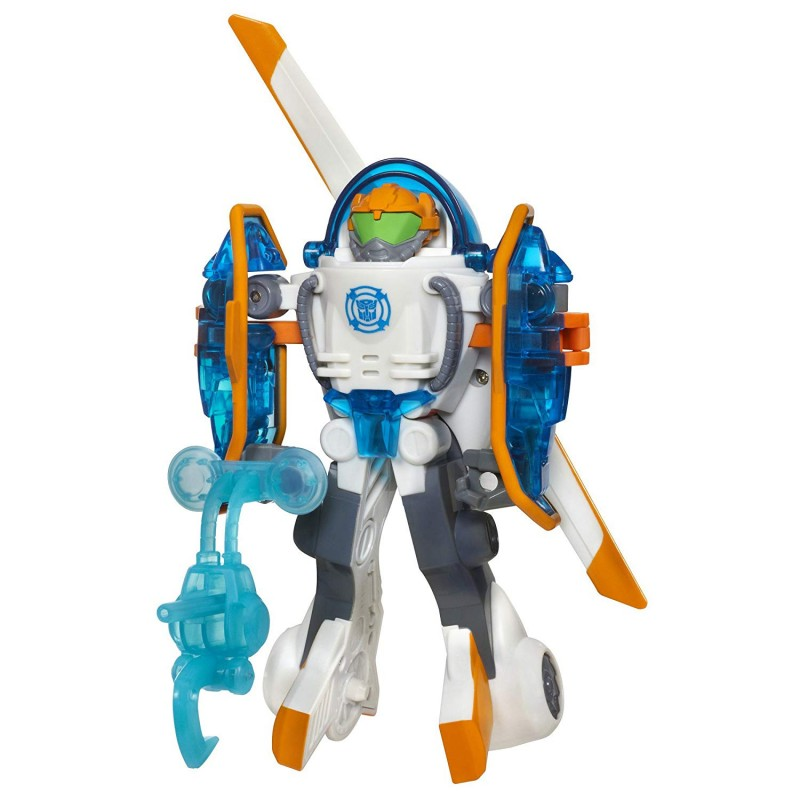 Robot Transformers Playskool Heroes Rescue Bots Blades the Copter-Bot Figure