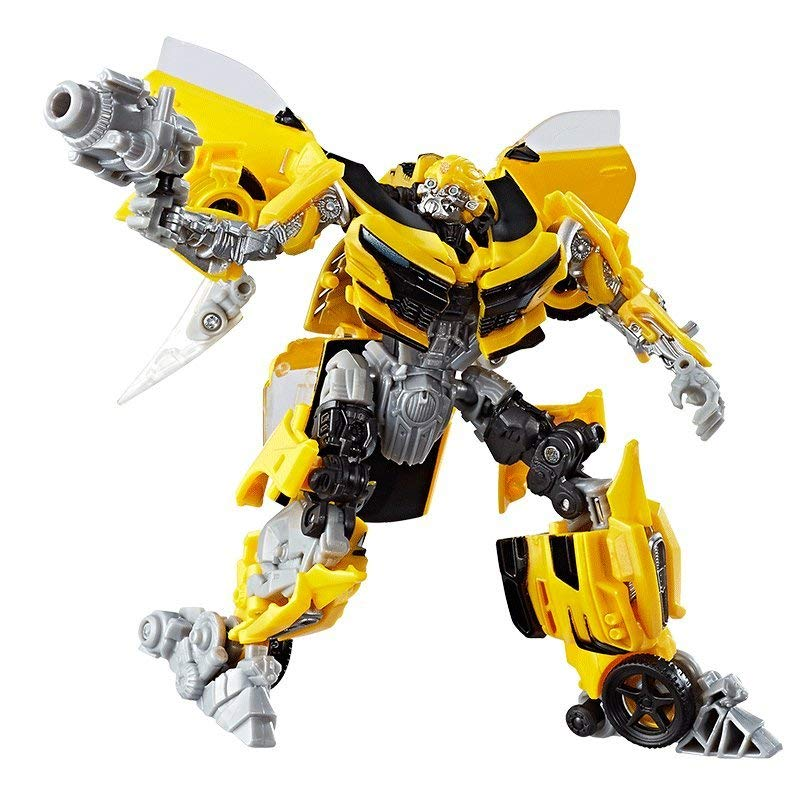 Robot Transformers: The Last Knight Premier Edition Deluxe Bumblebee