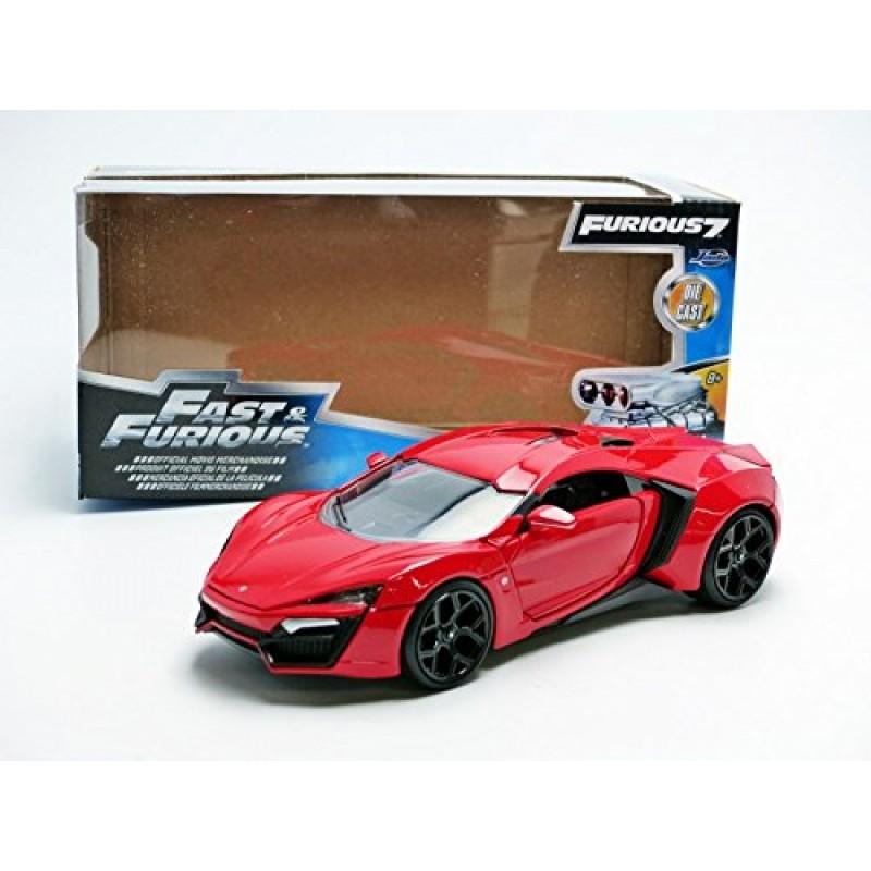 Xe Jada Toys Fast & Furious Lykan Hypersport