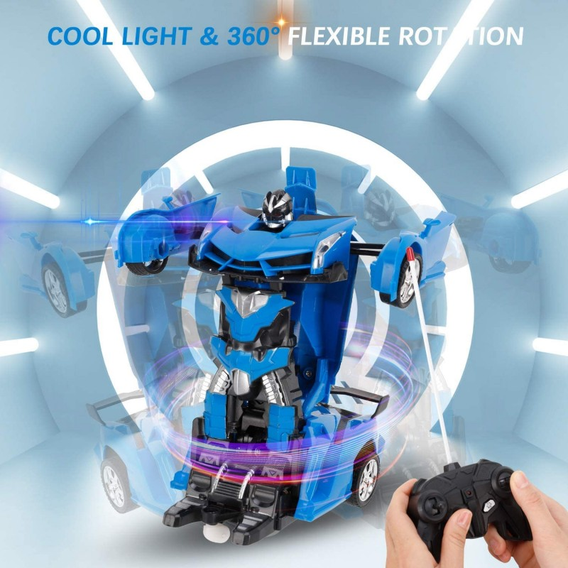 Xe đồ chơi biến hình robot