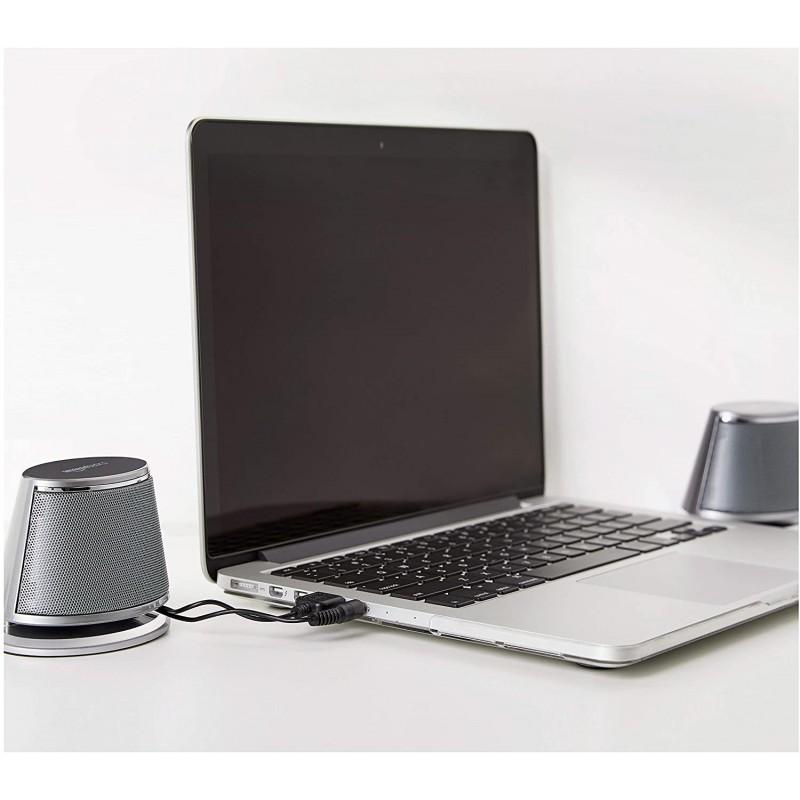 Loa máy tính AmazonBasics USB-Powered