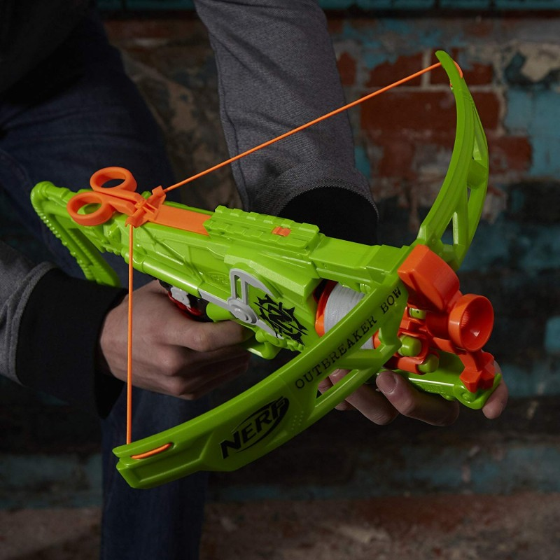 Cung súng Nerf Zombie Strike Outbreaker Bow