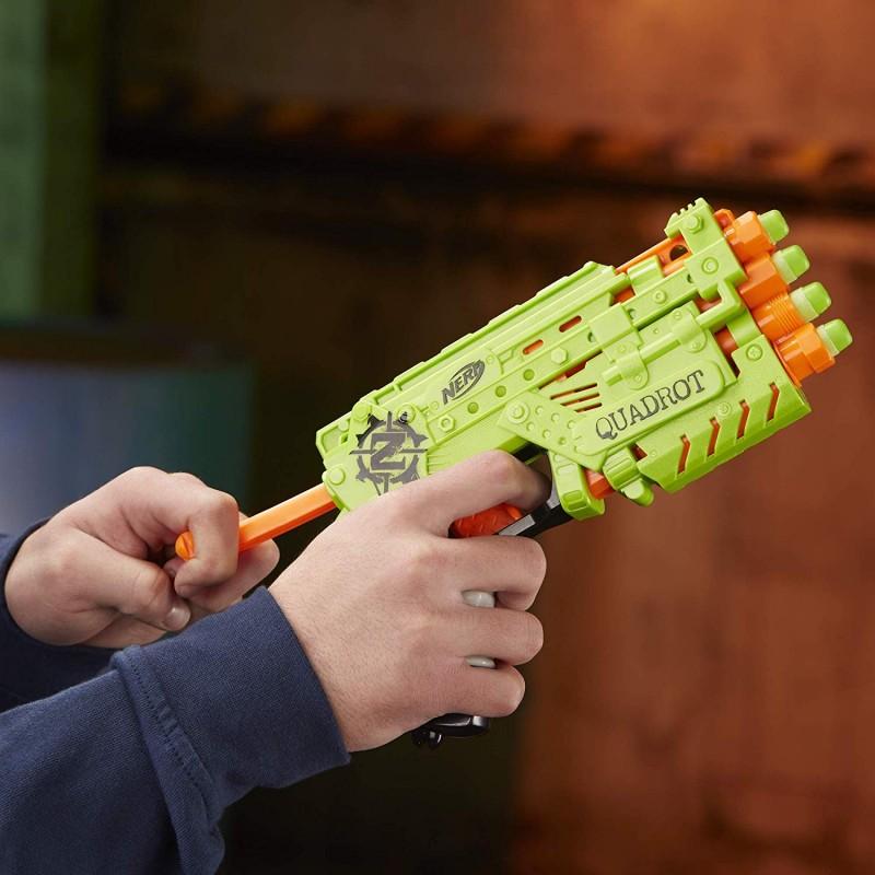 Súng Nerf Zombie Strike Quadrot