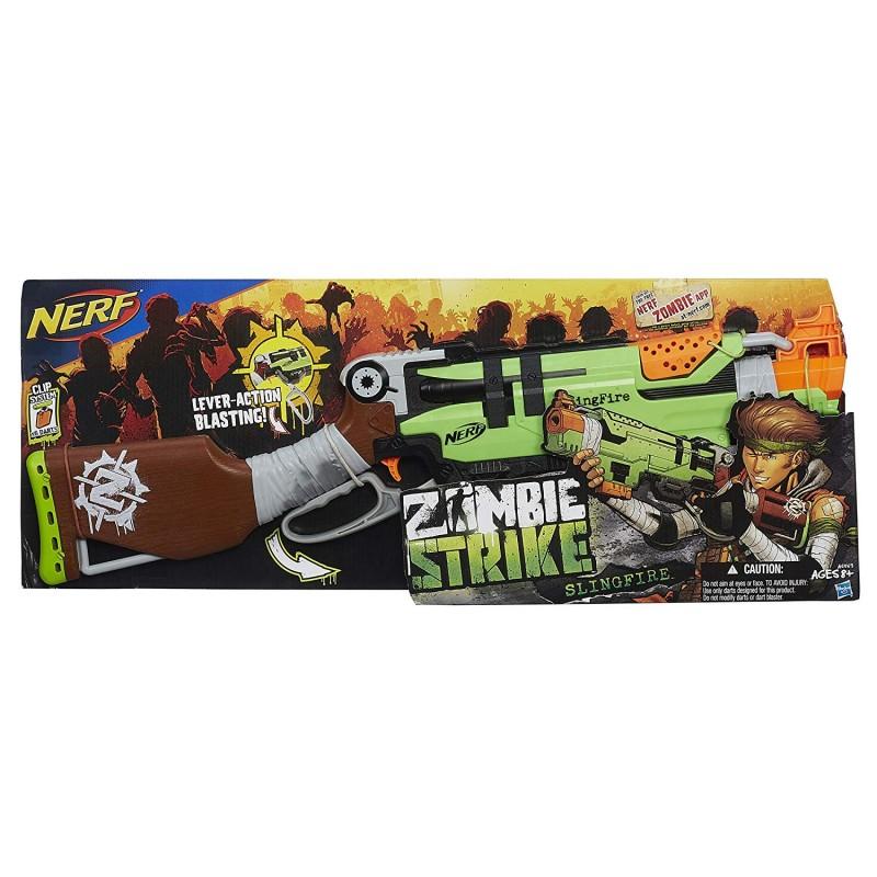 Súng Nerf Zombie Strike SlingFire Blaster