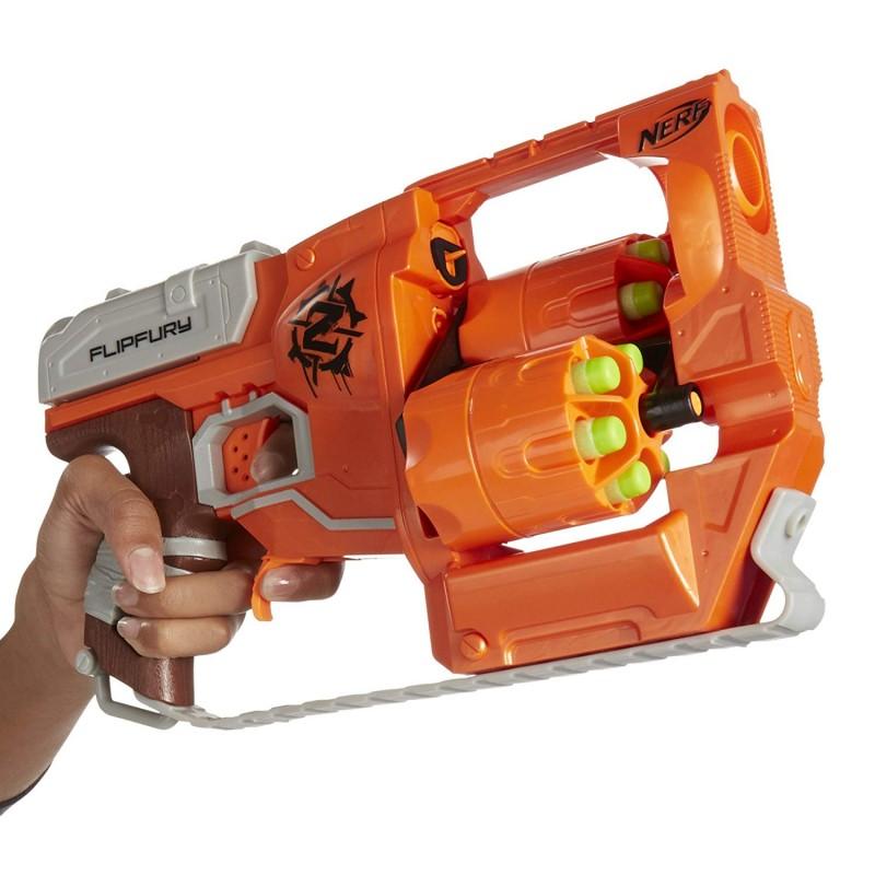 Súng Nerf Zombie Strike FlipFury Blaster